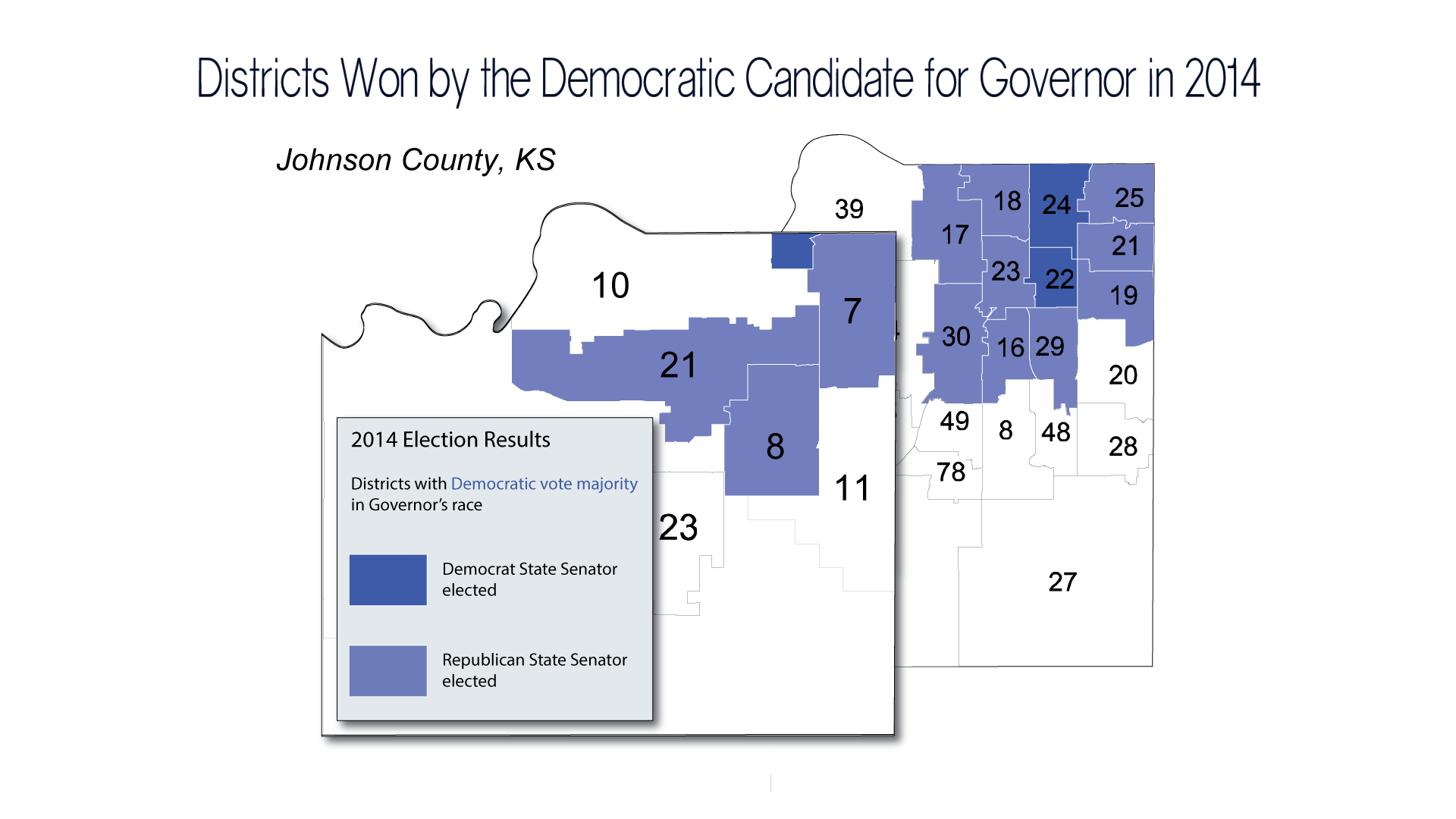 Kansas johnson county real estate taxes - Map Shows The Kansas Senate And House Districts In Johnson County Where A Majority Of Voters