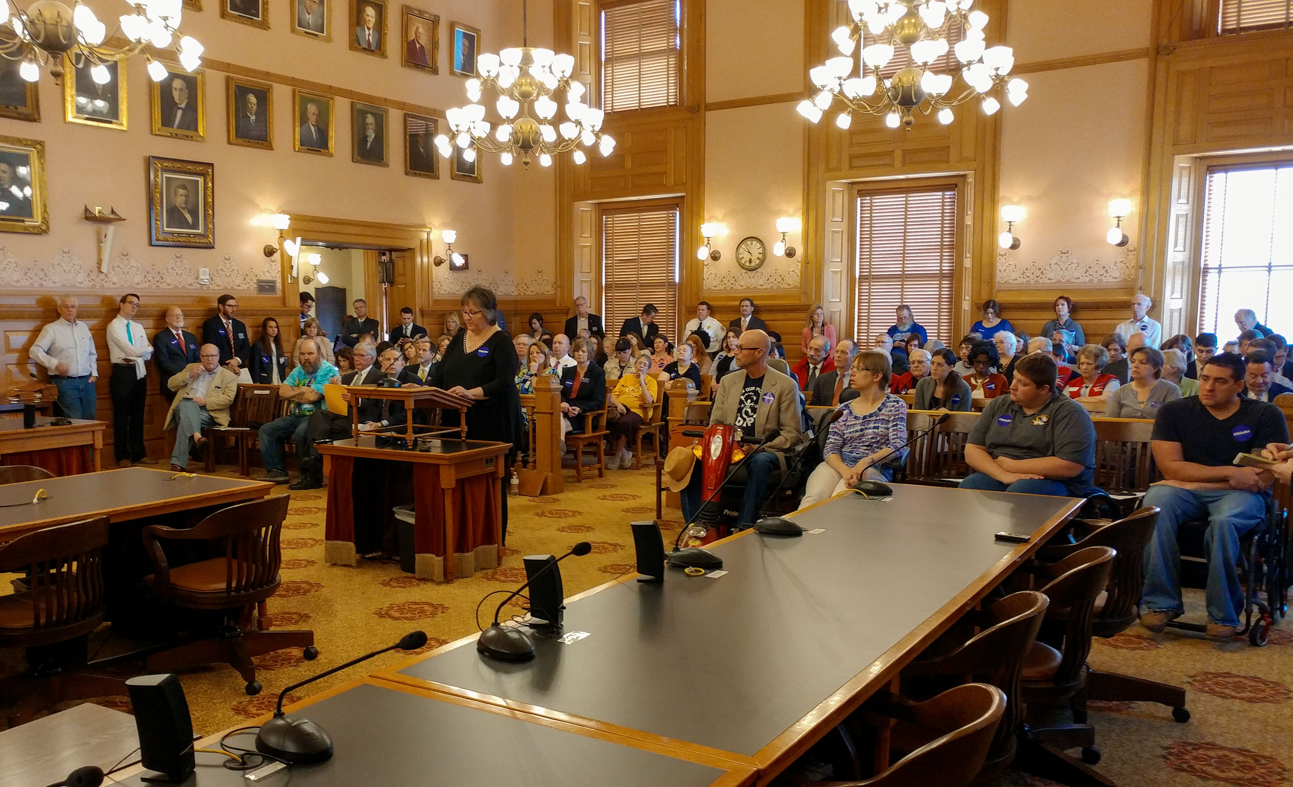 kansas senate committee takes up medicaid expansion bill hb  kansas resident suzan emmons is a self employed housekeeper raising two granddaughters who cannot afford health