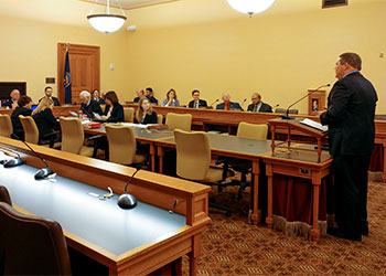 Kansas HB-2065 Medicaid expansion bill 1st day hearing redefines 'neutral'