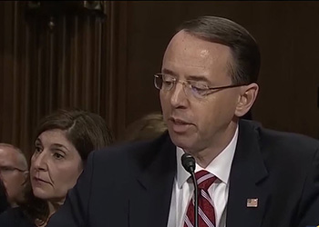ANALYSIS: Rosenstein's revenge? Special Counsel appointed without notifying Trump