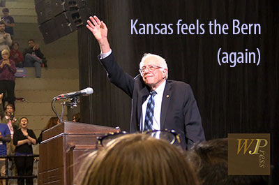 Kansas feels the Bern (again) (FULL SPEECH)