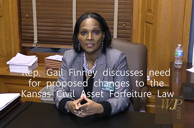 KS Rep. Gail Finney on proposed changes to Civil Asset Forfeiture Law title