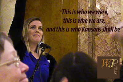 Heather Ousley speech at Kansas Peoples Agenda Rally