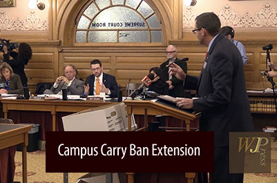 KS House committee hearing on HB-2074 to extend campus carry prohibition (FULL HEARING)