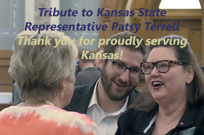 Tribute To Kansas Representative Patsy Terrell title