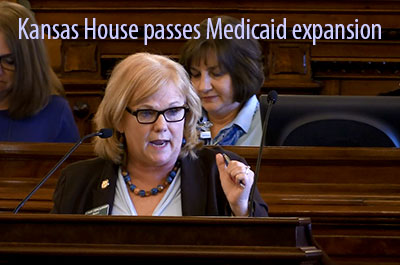 Kansas Medicaid expansion amended to HB-2044 and passes with veto-proof majority