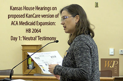 HB 2064 - Medicaid Expansion Bill Hearing - Day 1 - 'Neutral Testimony' 2-6-17 (FULL HEARING)