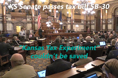 Kansas Senate income tax debate: Conservatives try to save the Brownback 'Kansas Experiment'
