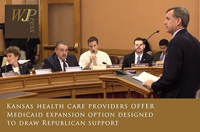 Kansas healthcare providers offer ACA Medicaid expansion option for 2015 legislative lession