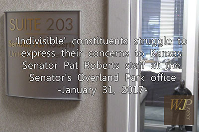 'Indivisilble' constituents struggle to express concerns to KS Sen. Pat Roberts 1-31-17 title